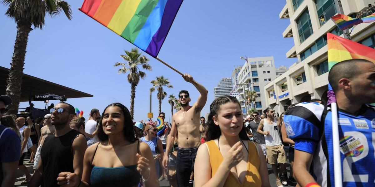 Israel realiza la más grande marcha LGBT+ de Medio Oriente
