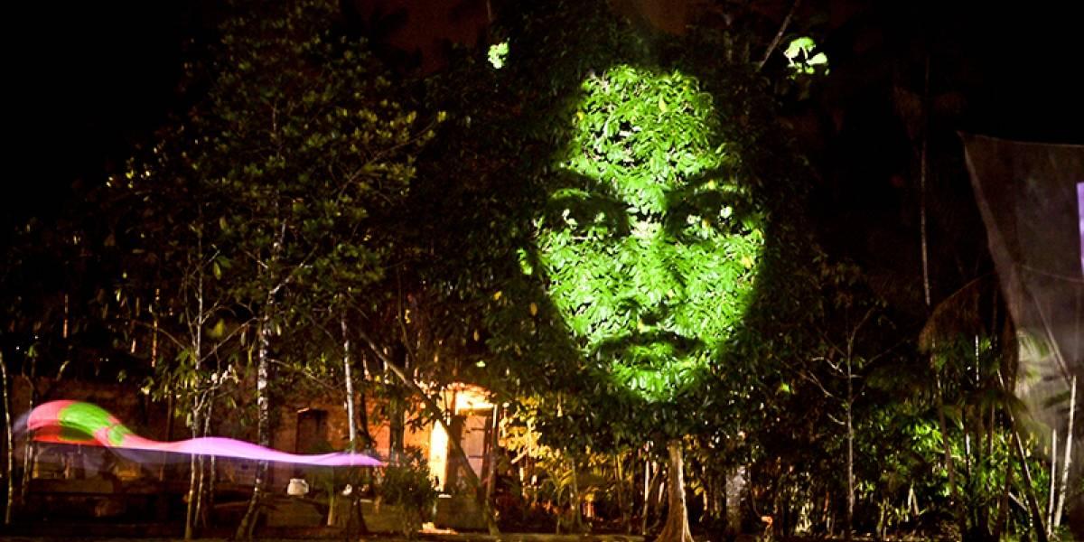 Intervenção artística na avenida Paulista chama atenção para a doença progressiva PAF