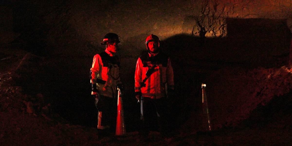 Identifican a personas atrapadas en mina San José de Tocopilla: autoridades realizan evaluación para rescate