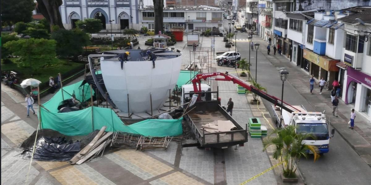 La taza de café más grande del mundo se servirá en Chinchiná