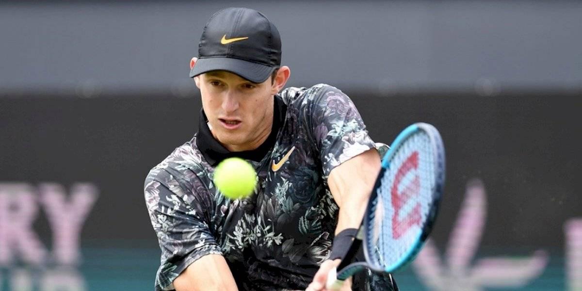Nicolás Jarry tendrá una durísima prueba en la qualy del ATP 500 de Londres en Queen's Club