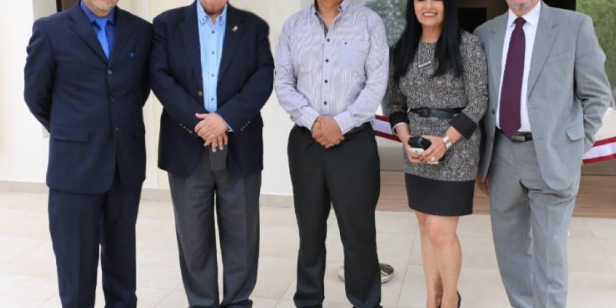 UIDE inaugura su moderna biblioteca 'Aída Sánchez Caamaño'