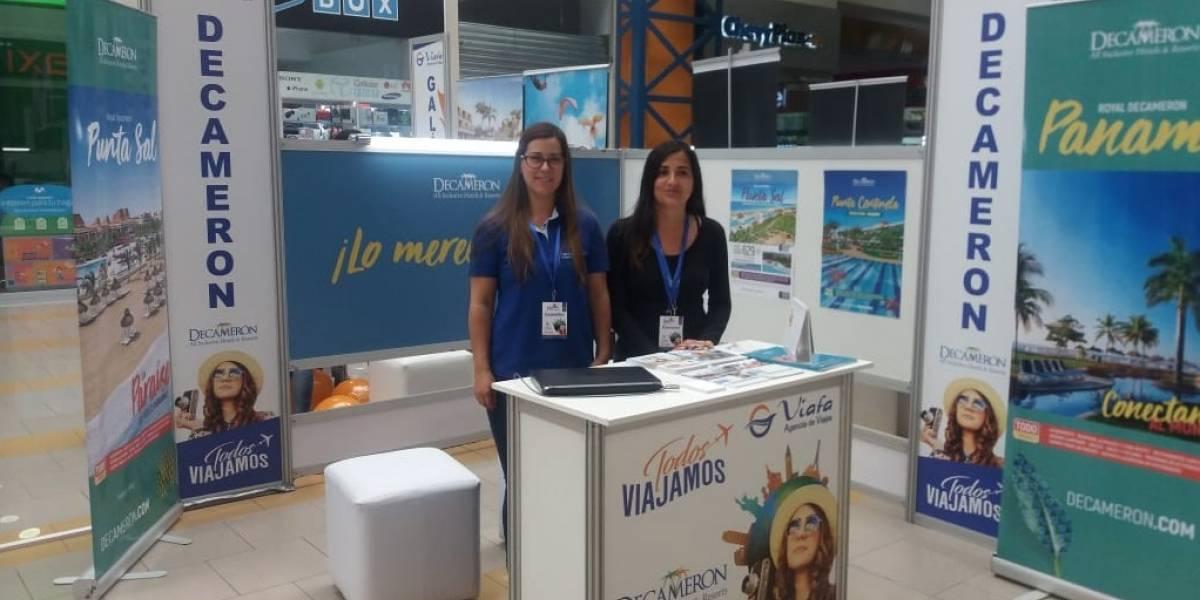 Decameron promociona sus servicios en ferias