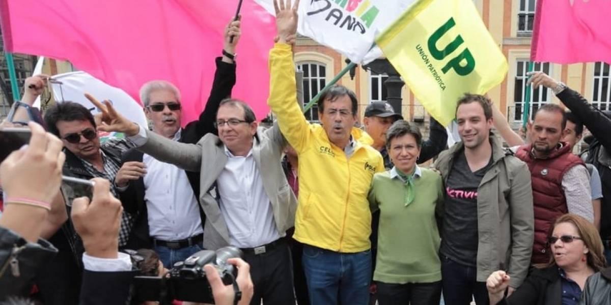 Izquierda unida: candidatos declaran aspiración unificada a la Alcaldía de Bogotá