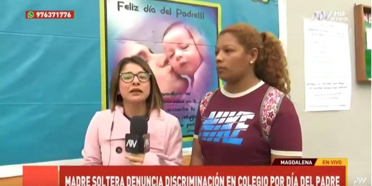 Feroz discriminación a mujeres en el Día del Padre en Perú
