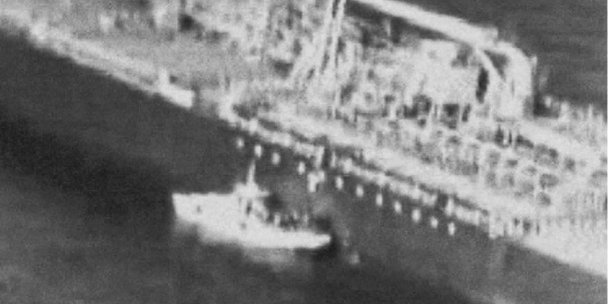 EE.UU. mostró videos que indicarían que Irán atacó a los petroleros