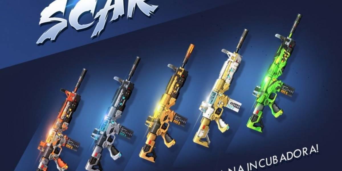 Battle Royale: Garena Free Fire atualiza 'incubadora' e libera novas skins