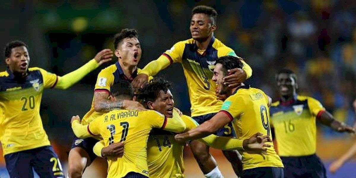 La selección Sub 20 de Ecuador arriba hoy al país