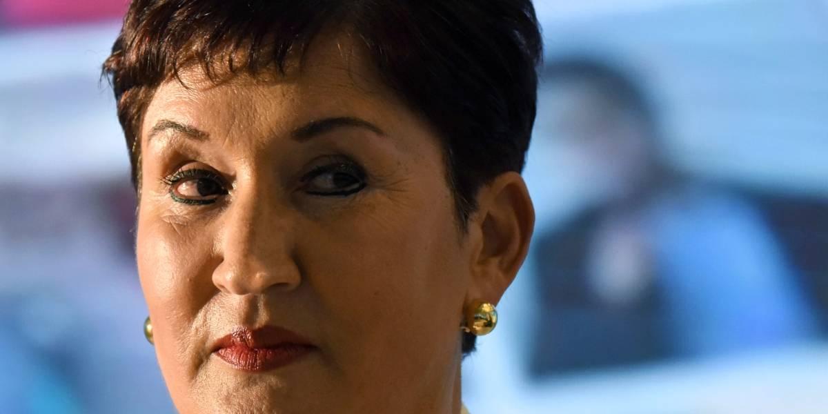 Exfiscal Thelma Aldana expone ante CIDH riesgos para la seguridad de su familia