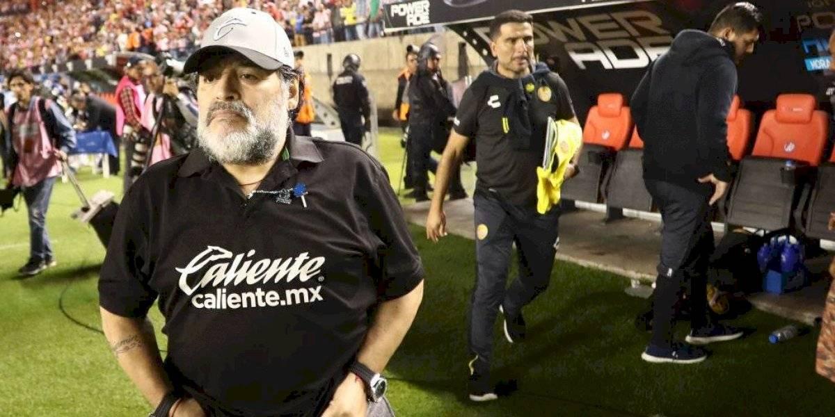 """""""Hoy tengo que pensar en mí y en mi salud"""": Diego Maradona dejó de ser entrenador de Dorados de Sinaloa"""