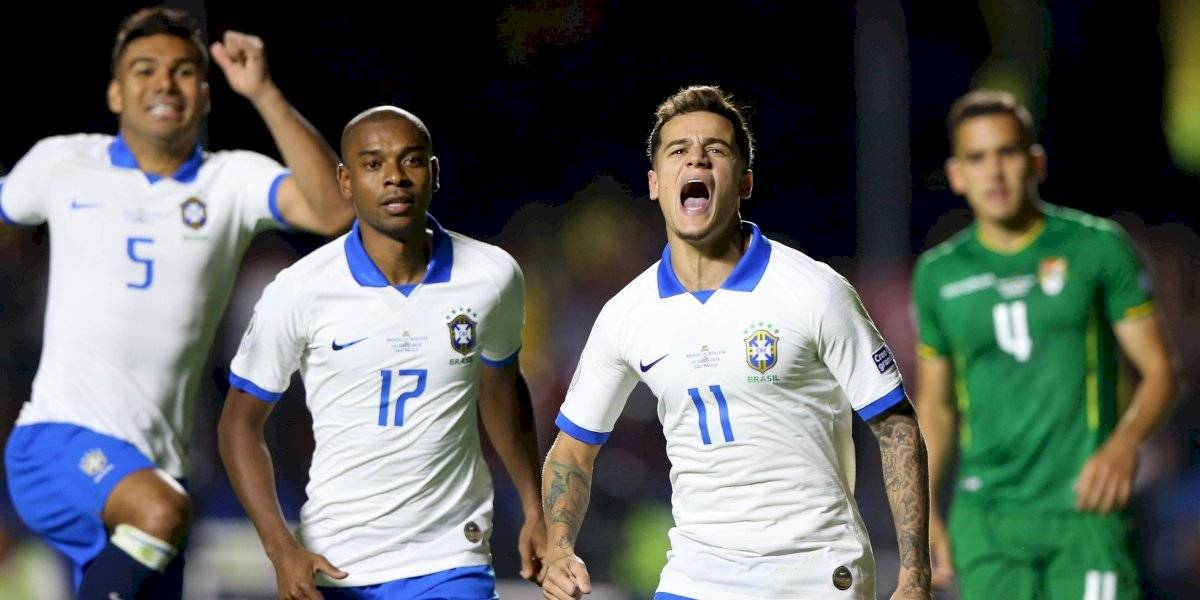 Brasil arrolla a Bolivia en el arranque de la Copa América