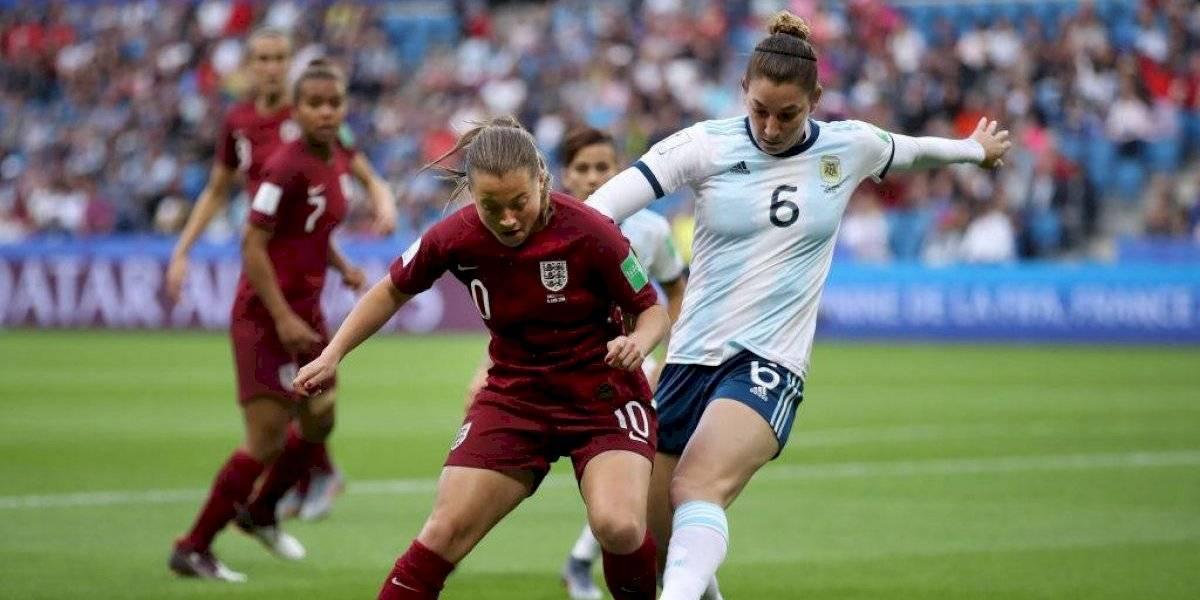 """Argentina perdió el """"clásico"""" ante Inglaterra y pende de un hilo en el Mundial femenino"""