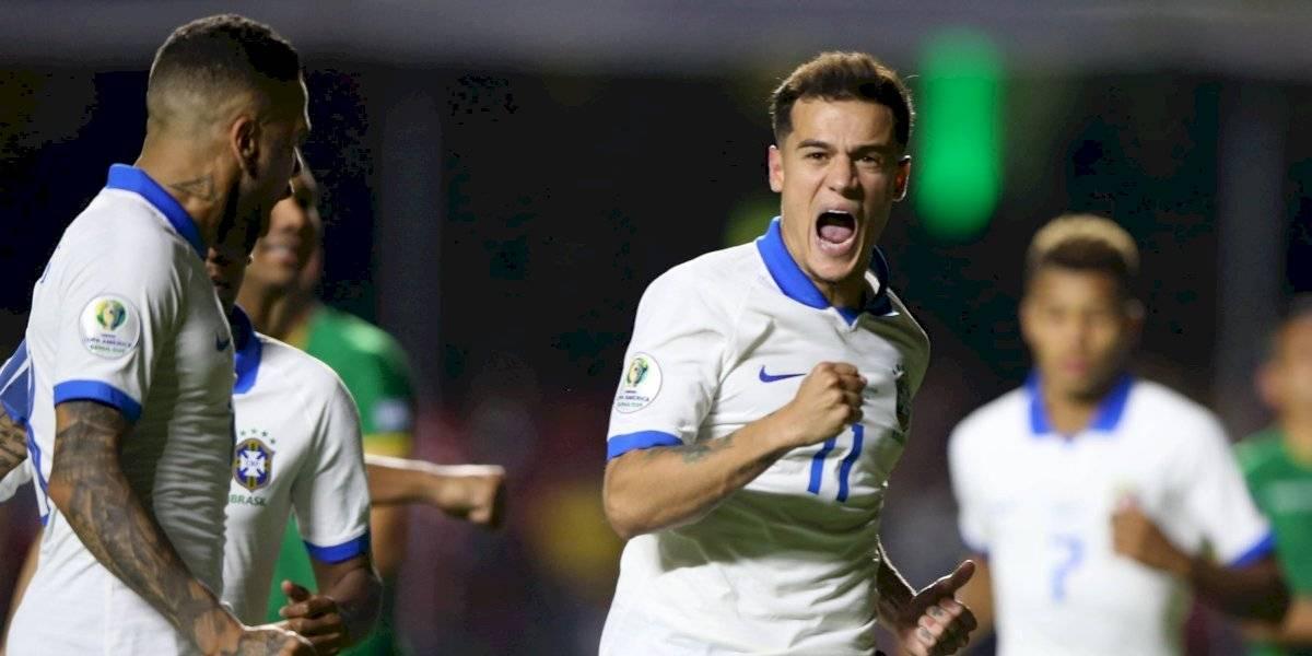 Brasil consigue su primera victoria en la Copa América