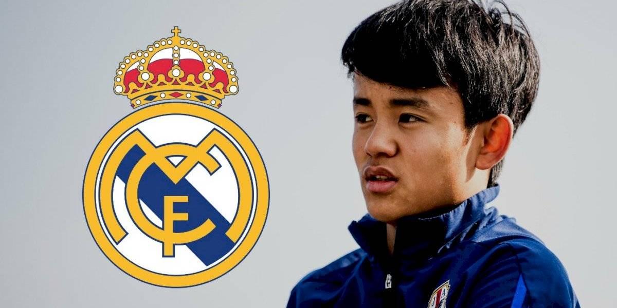 Real Madrid sorprende y ficha a juvenil japonés