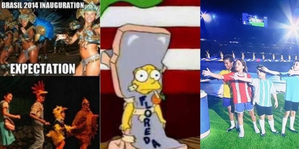 Los memes que dejó la inauguración de la Copa América