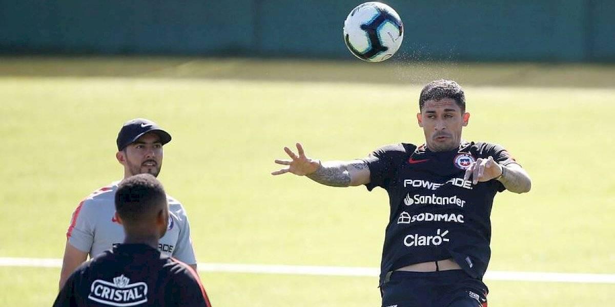 La Roja alista su debut en Copa América: Rueda ensaya con Hernández como titular y Castillo sigue en duda