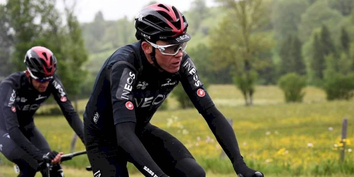 Christopher Froome evoluciona favorablemente, luego de su accidente
