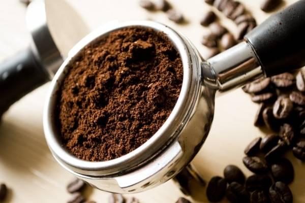 De cafe la piel para mascarilla