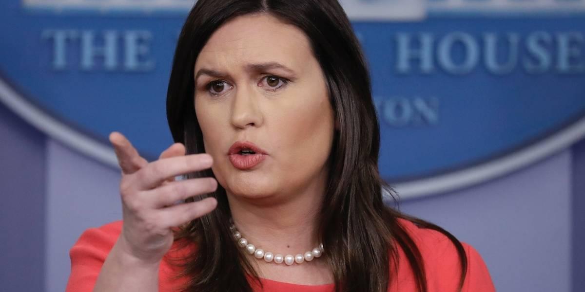 Sarah Sanders dejará de ser portavoz de la Casa Blanca