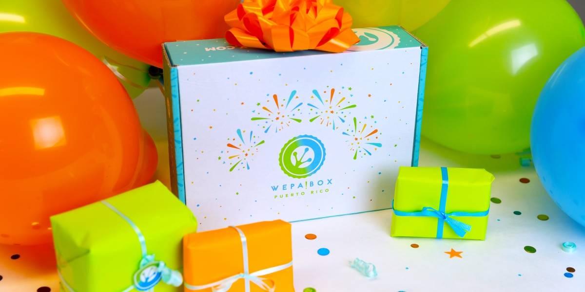 WEPA!BOX Puerto Rico muestra caja especial por su primer aniversario