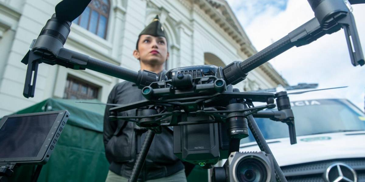 Con drones, la Alcaldía de Bogotá buscará mejorar la seguridad de la ciudad