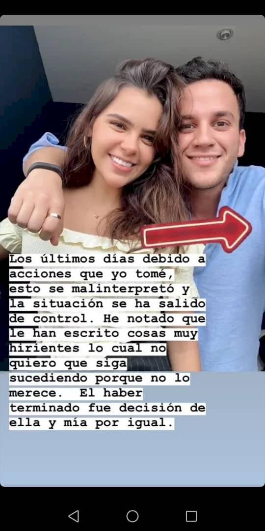 Beto Pasillas usó Instagram para comunicar la ruptura