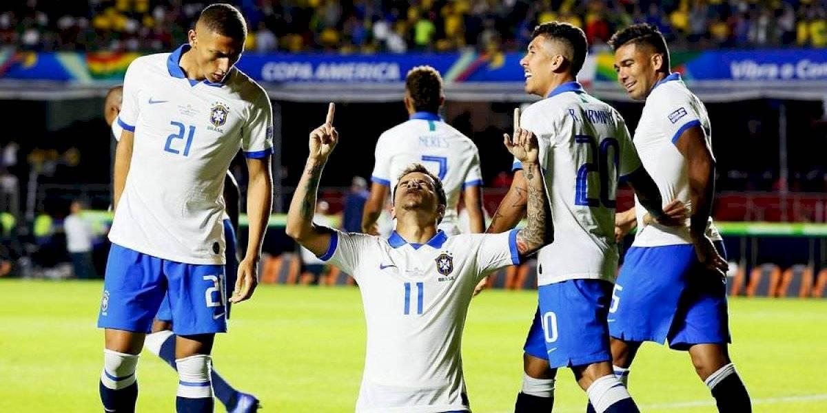 Así vivimos el triunfo de Brasil sobre Bolivia en el partido inaugural de la Copa América
