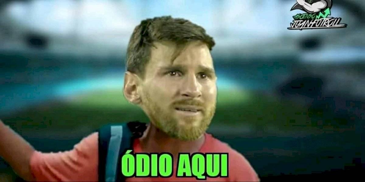 Los memes se burlan de Messi y la derrota de Argentina