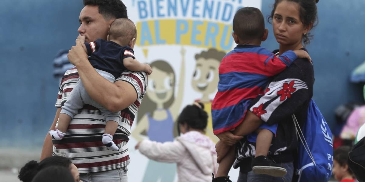 Venezolanos rompen récord de ingreso a Perú en un sólo día