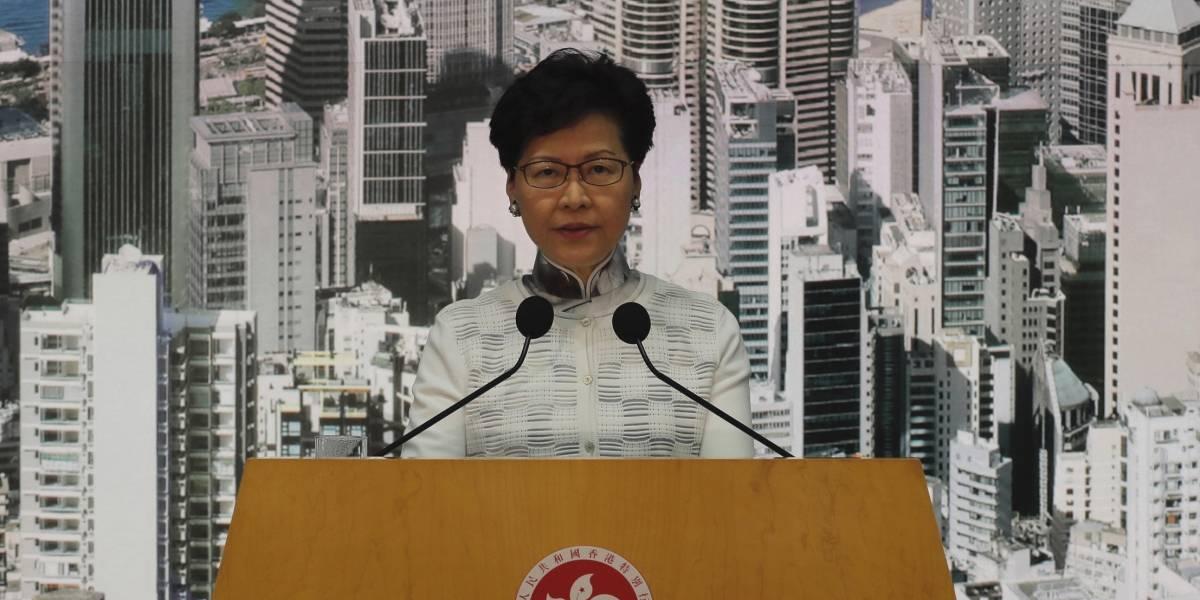 Hong Kong suspende iniciativa de extradición a China