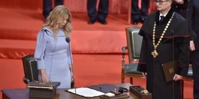 Ceremonia de investidura de Zuzana Čaputová