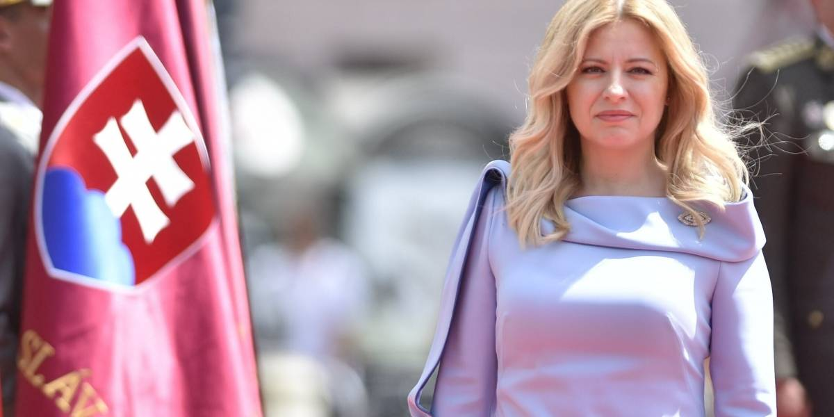 Zuzana Caputová jura el cargo como primera mujer presidenta de Eslovaquia