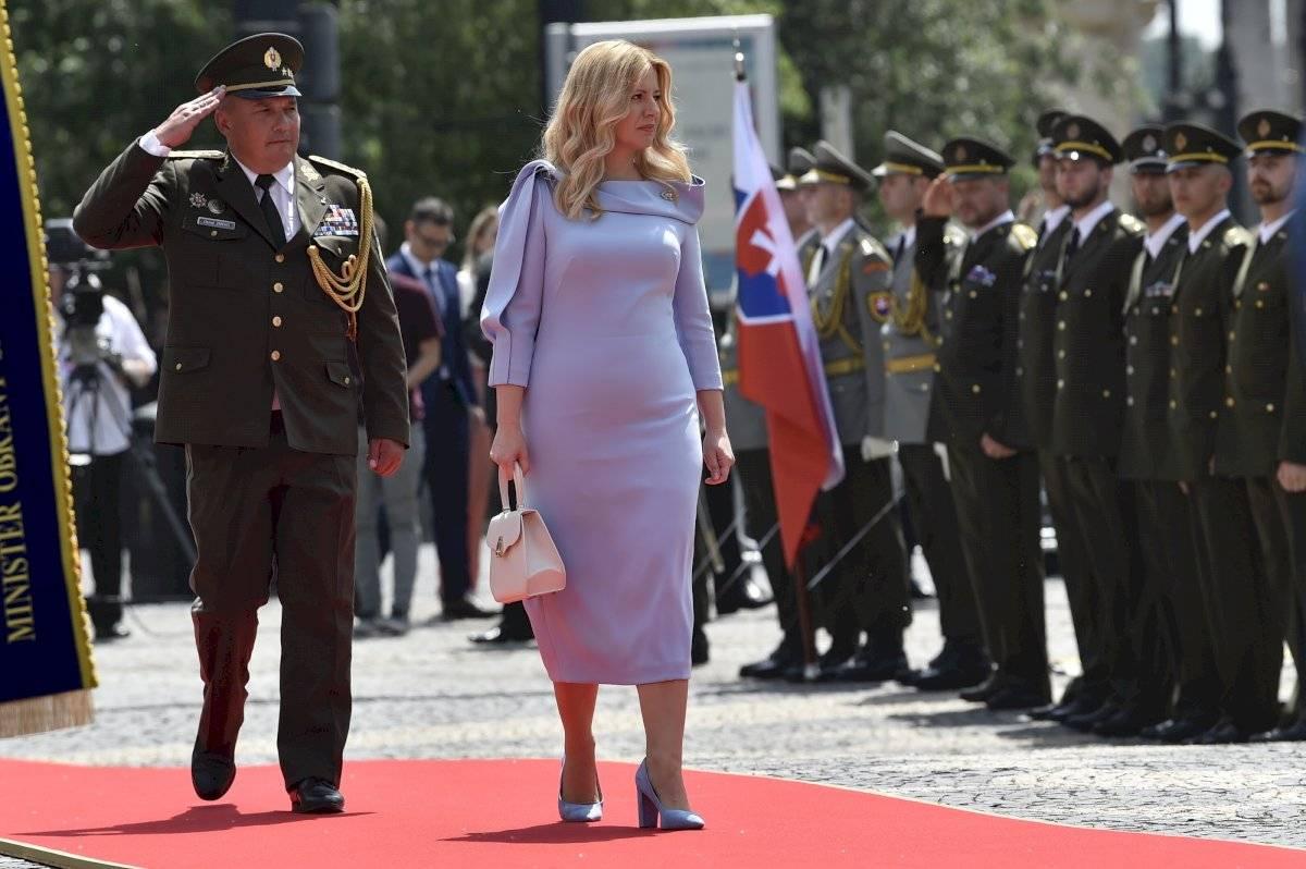 Ceremonia de investidura de Zuzana Čaputová Foto: AP