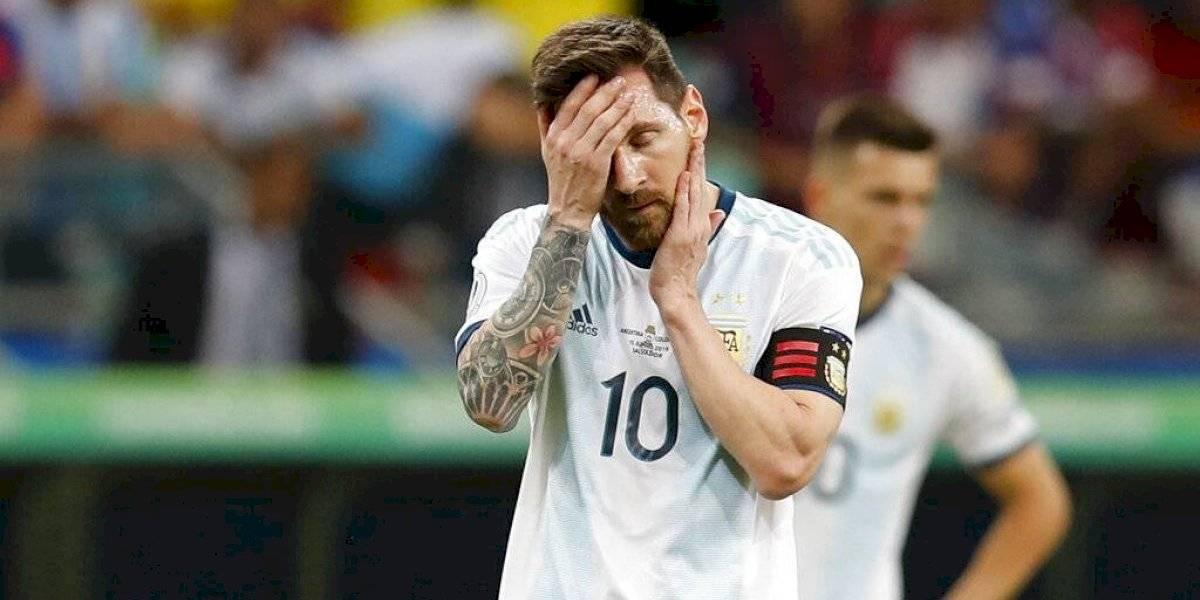 Argentina debuta en Copa América con el pie izquierdo