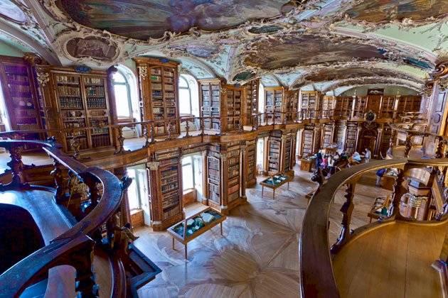 Biblioteca de Suiza