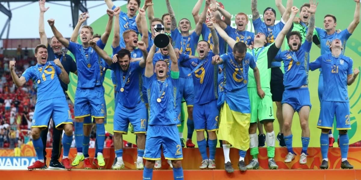 Ucrania es el nuevo campeón del Mundial Sub 20