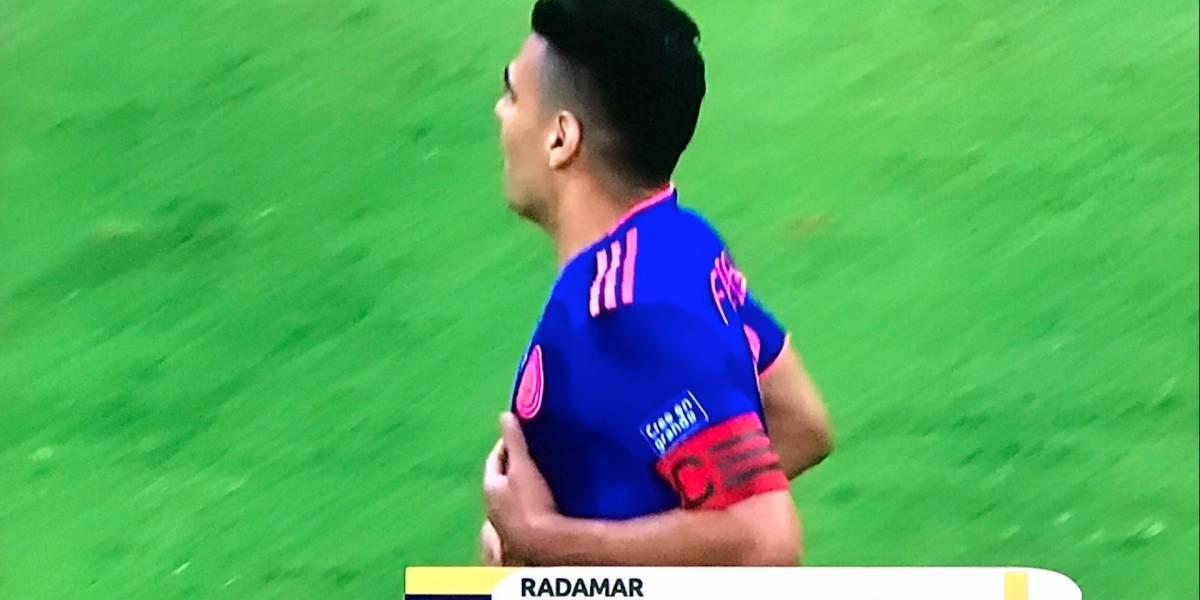 ¿Radamar Falcao? Los mejores memes del error en la transmisión con el nombre de Falcao García