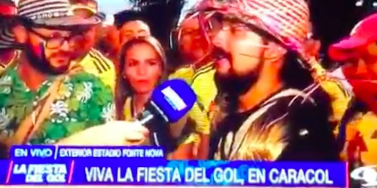 ¡No puede ser! Fanático perdió la oportunidad de entrar al partido de Argentina VS Colombia por no responder sencilla pregunta