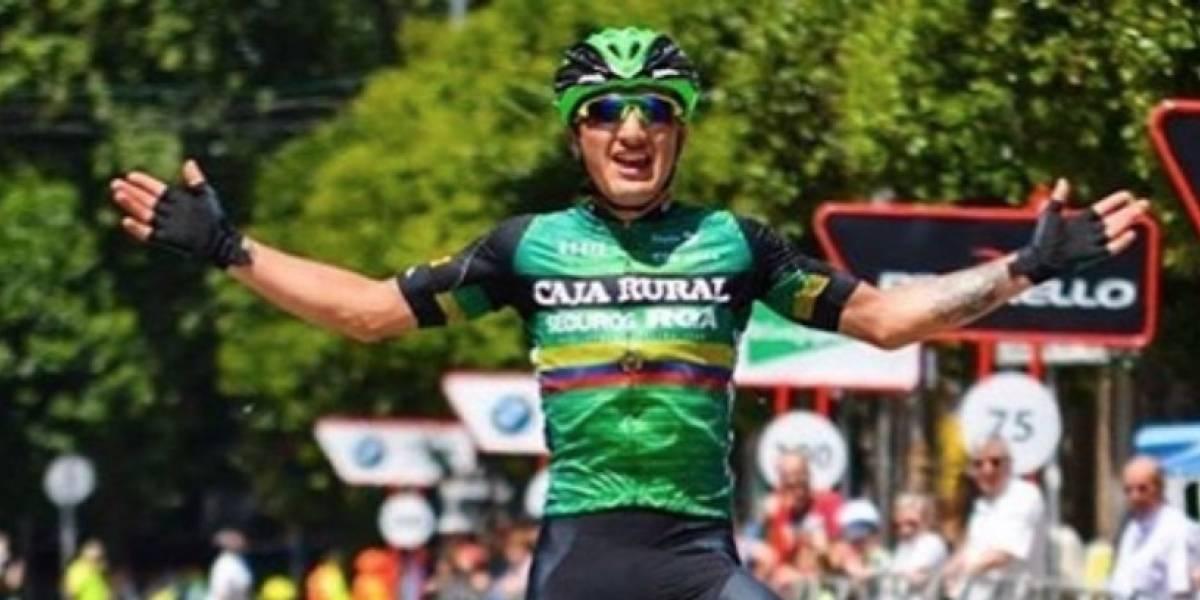 Jefferson Cepeda vuelve a subirse en el podio en España