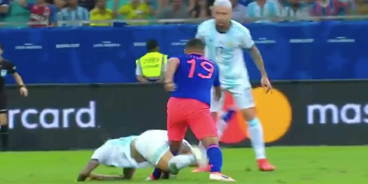 ¡Preocupación en la Tricolor! Luis Fernando Muriel abandonó el terreno de juego por lesión
