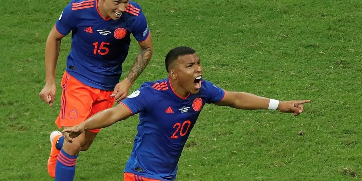 ¡La Fonte de los deseos! Colombia derrota a Argentina y se ilusiona con la Copa