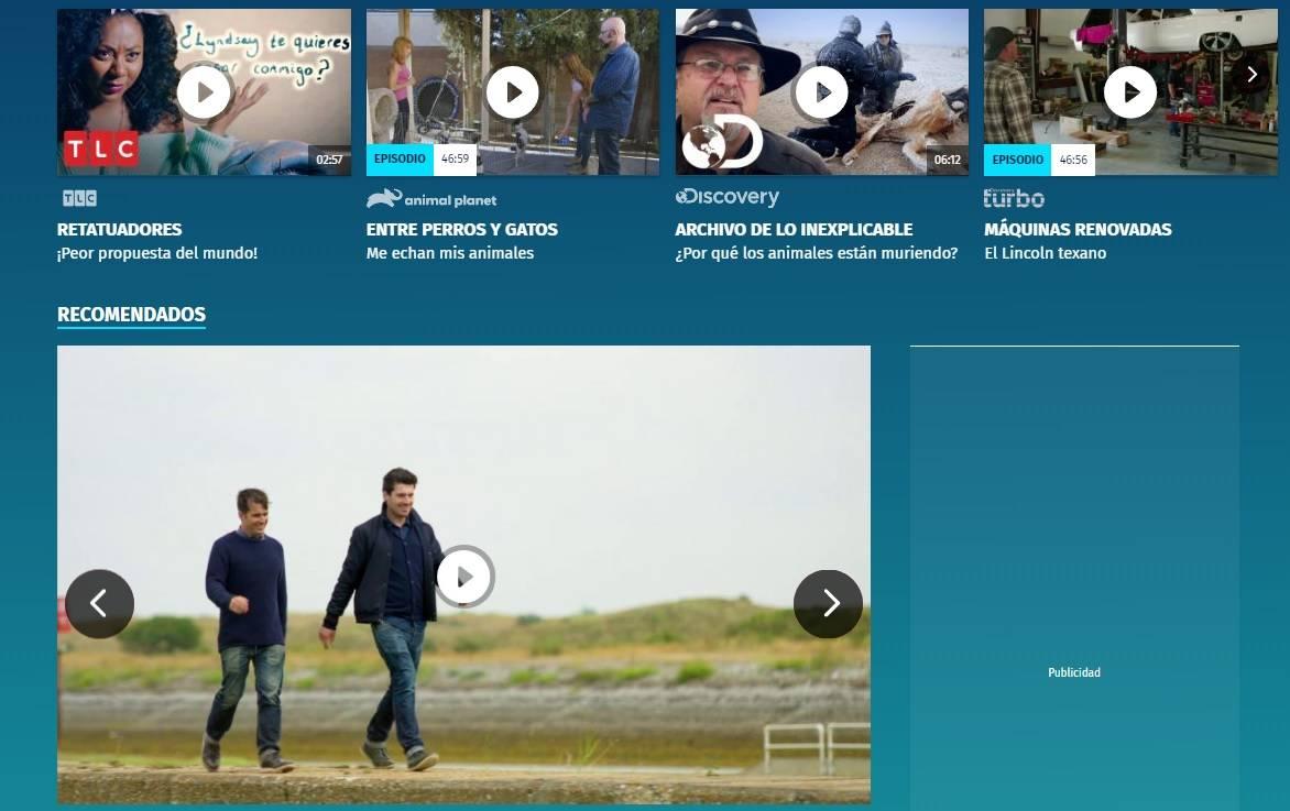 Discovery lanza un nuevo portal donde publicará sus propios contenidos en forma de videos cortos