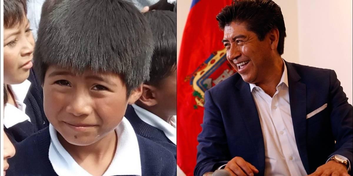 El meme del alcalde Jorge Yunda pasó a ser una realidad ¿Qué hizo con el niño?