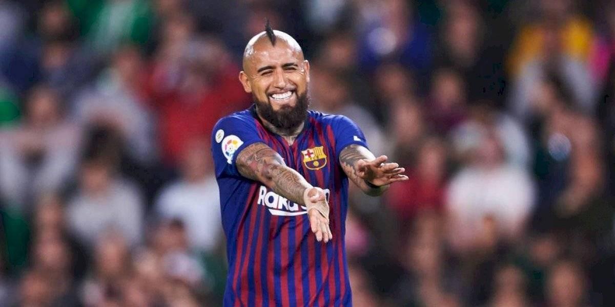 Bravo y Vidal, juntos en el once ideal de sudamericanos de Barcelona