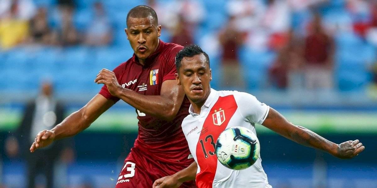 Venezuela y Perú empatan sin goles en la Copa América
