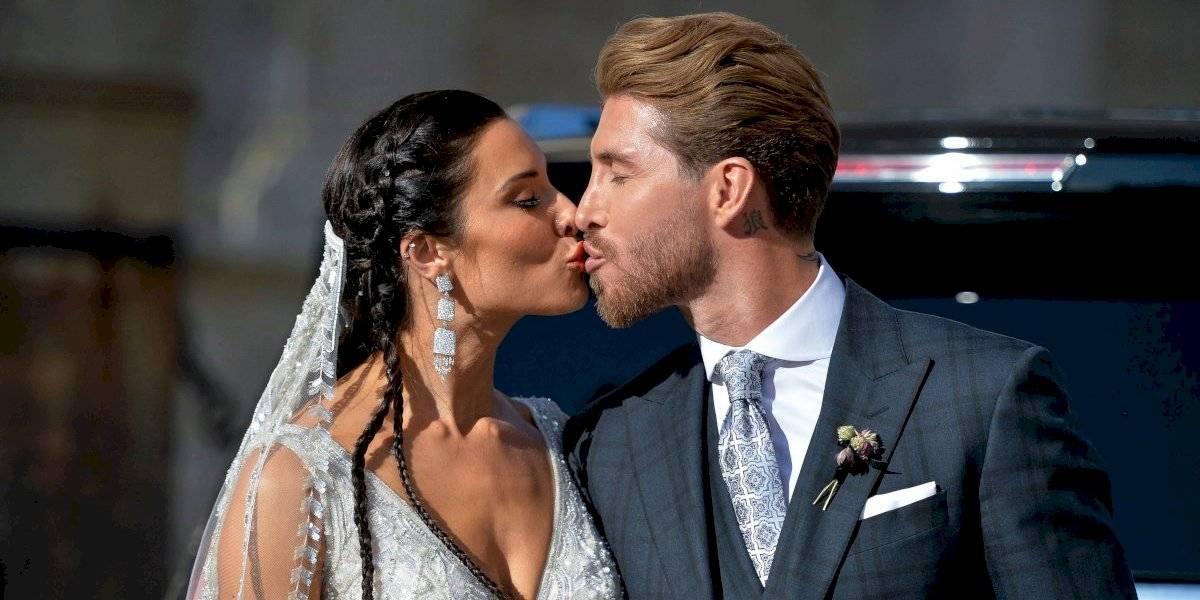 VIDEO: Así ha sido la boda de Sergio Ramos y Pilar Rubio