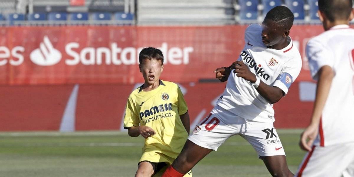 Ibrahima Sow, el imponente jugador de 12 años del Sevilla