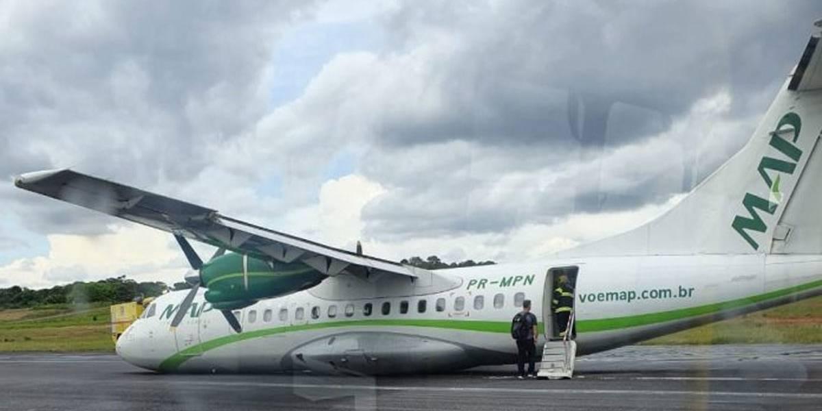 Avião com 38 passageiros faz pouso forçado no Amazonas