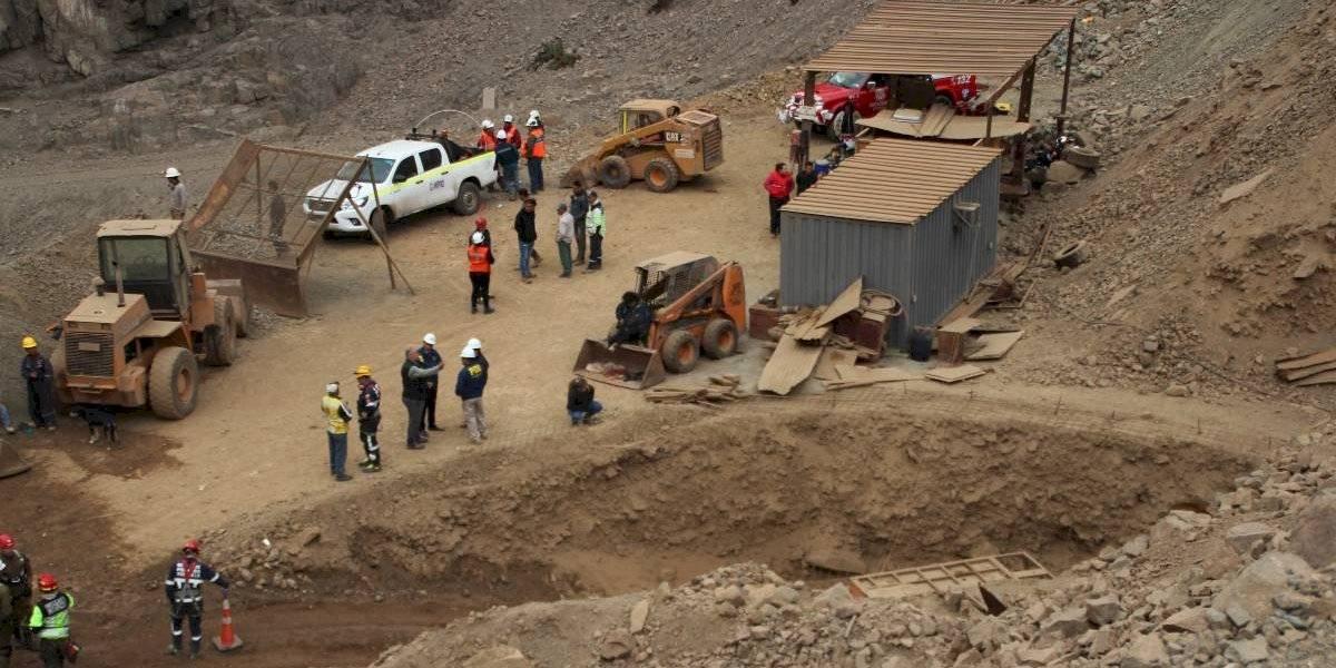 Mina San José de Tocopilla: gobierno confirma un minero muerto, uno rescatado y otro desaparecido
