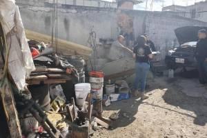 Operativo en Coacalco y Tultitlán